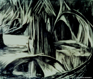 Green Cavern 8' x 9'