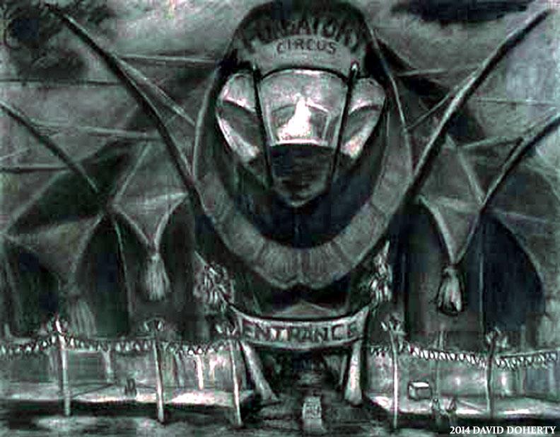 "Purgatory Circus Tent 20"" x 30"""