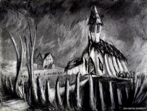 """Ambertown 1888 12"""" x 16"""""""