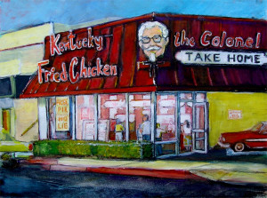 "Kentucky Fried Chicken 16"" x 20"""