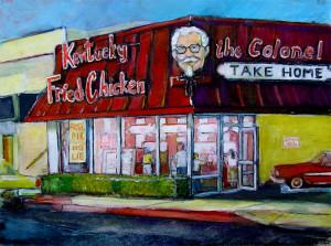 """Kentucky Fried Chicken 16"""" x 20"""""""