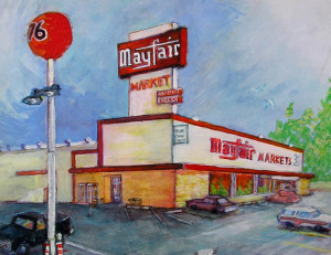 "Mayfair Market 16"" x 20"""