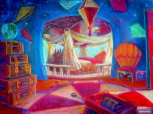 "The Balloon Room 20"" x 30"""