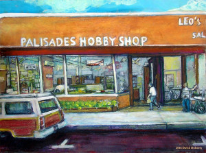 "Palisades Hobby Shop 16"" x 20"", available at http://www.magcloud.com/browse/issue/1229017?__r=718220"