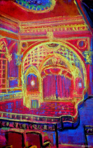 "Tower Theater Interior 11"" x 17"""