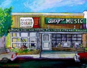 Allegro Record store ,