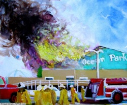 P.O.P. Entrance Fire